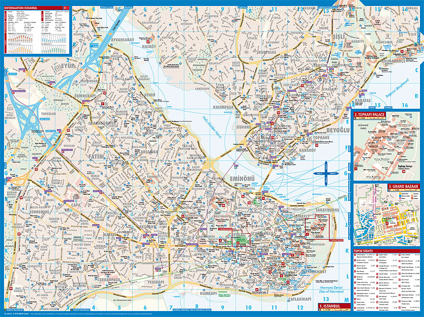 Borch Maps Istanbul Map